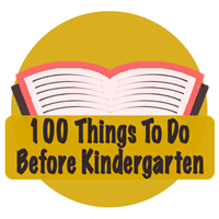 100 Things To Do Before Kindergarten Badge